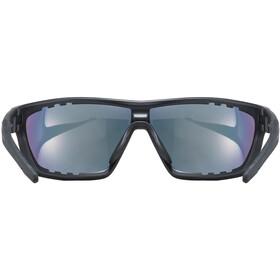 UVEX Sportstyle 706 Colorvision Variomatic Glasses black mat/litemirror red